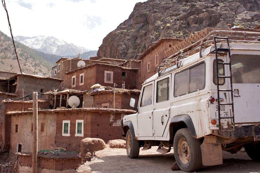 Übersetzerin reist nach Marokko